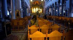 Βόλος: Ηγούμενος μήνυσε γυναίκα που εισήλθε στον ναό παρά την