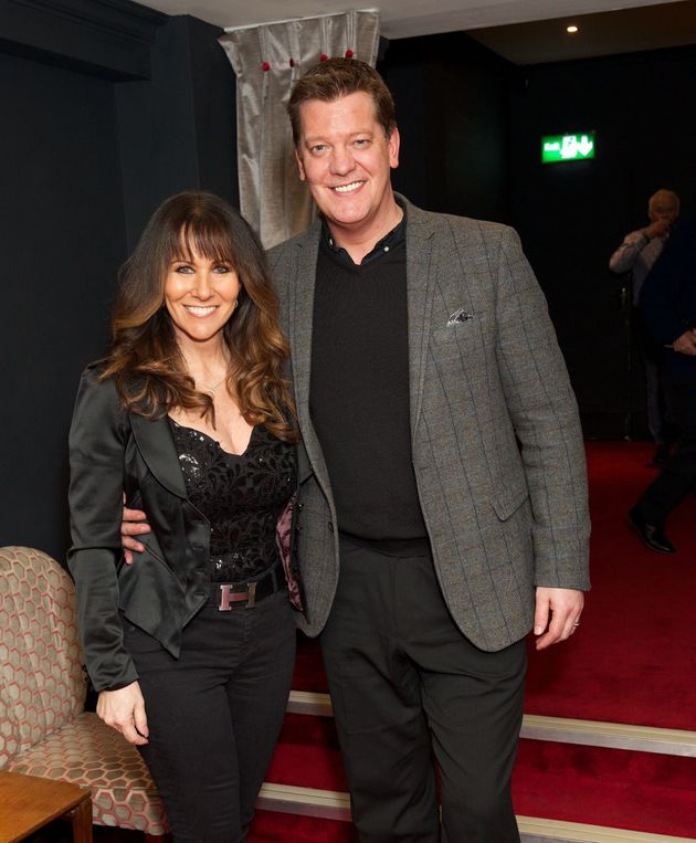 Linda Lusardi and Sam Kane, pictured in