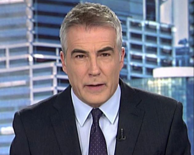 David Cantero, presentador de 'Informativos