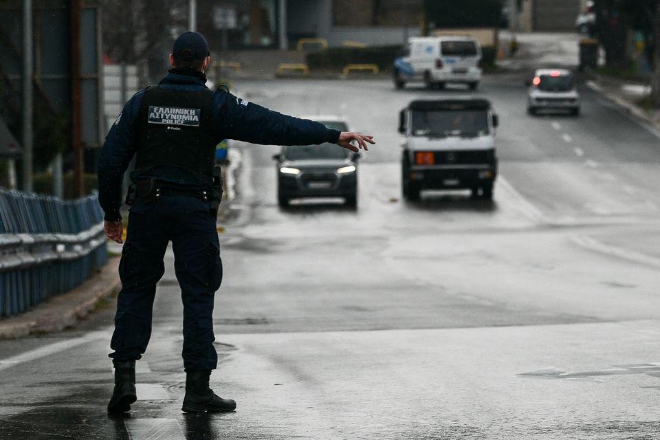 Φωτογραφίες: Η Αθήνα υπό απαγόρευση