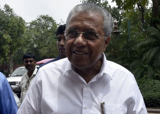 File image of Kerala Chief Minister Pinarayi