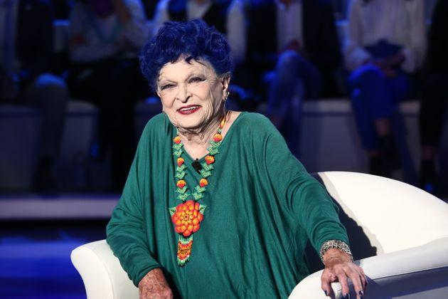 Lucía Bosé, en la televisión italiana el 27 de octubre de