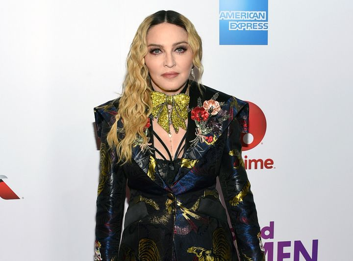 Madonna attends the Billboard Women in Music honors in 2016.