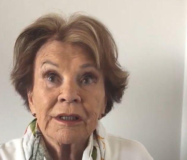 Coronavirus: Janette Bertrand lance un message très personnel aux