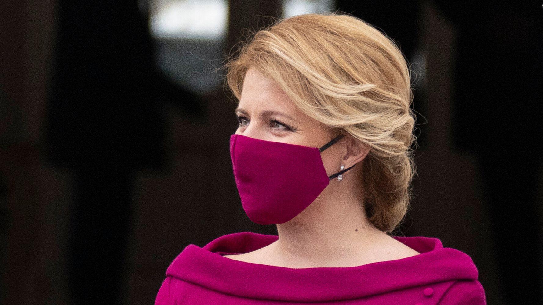 The President Of Slovakia Has Uh Nailed Her Coronavirus Look