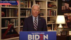 Joe Biden Rips Donald Trump's Response To Coronavirus