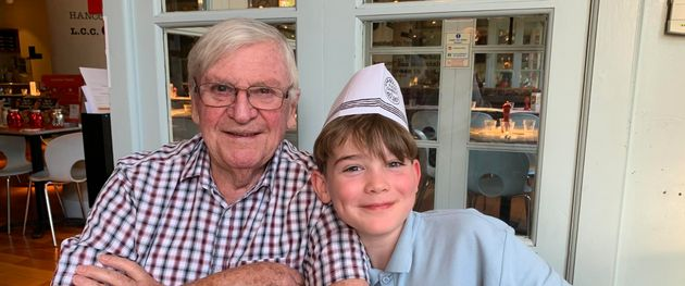 Mel Lock's 87-year-old dad Brian and her 11-year-old son