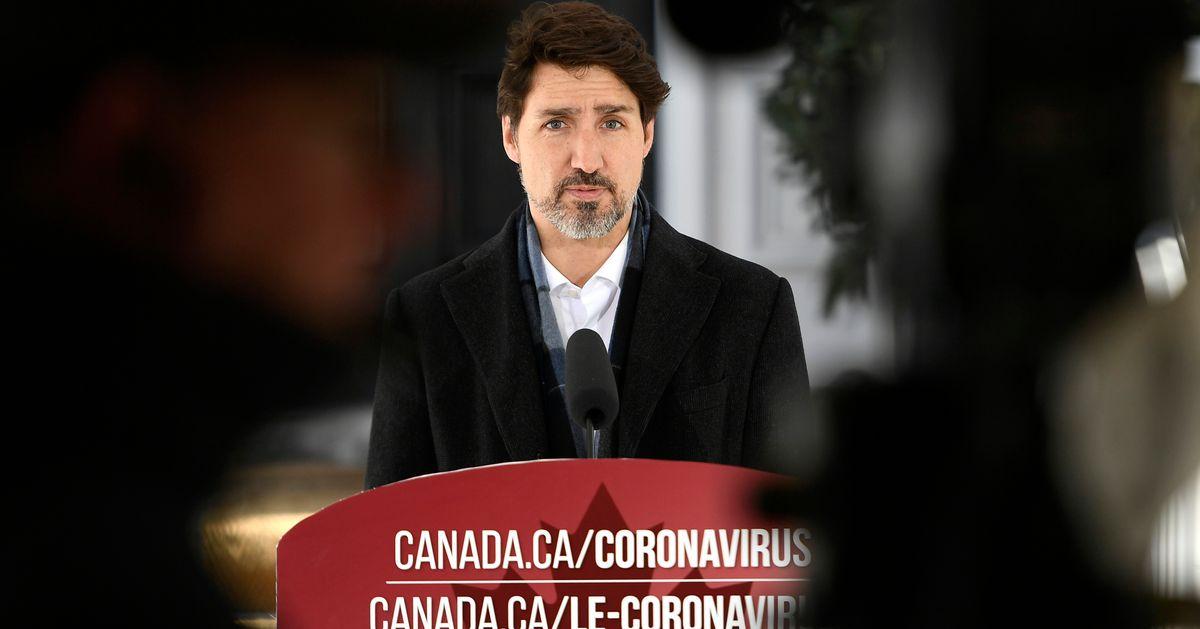 トルドーは、「無敵」だと思うカナダ人に鈍い「ステイホーム」警告を発します