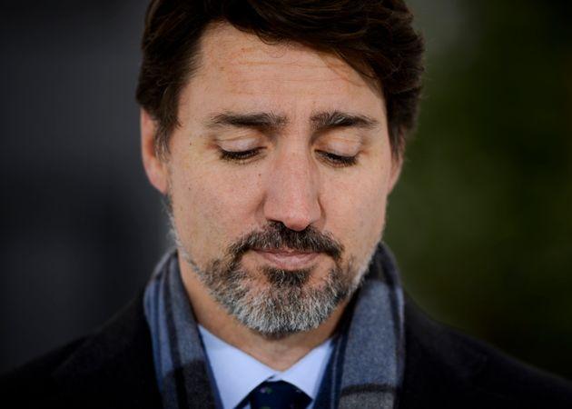 Justin Trudeau a adressé un message tout spécial à un membre de sa famille lors de son point de presse...
