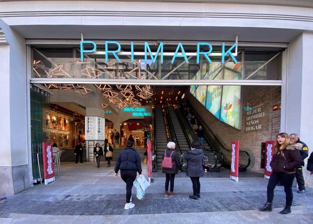 Tienda de Primark, en Gran Vía