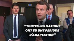 Macron répond aux critiques sur la gestion des stocks de