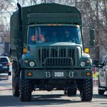 Le transport par trains de véhicules militaires n'est pas lié à la pandémie, assure