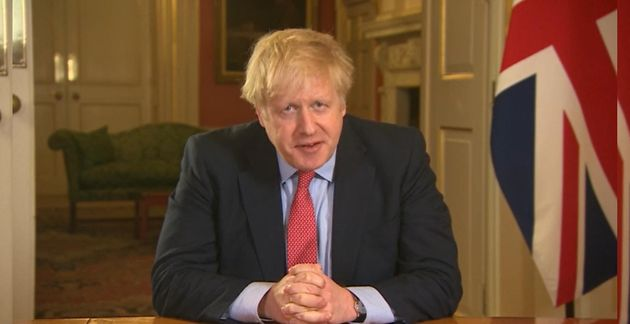 Le Premier ministre britannique Boris Johnson, ici ce 23 mars, a décrété un confinement...