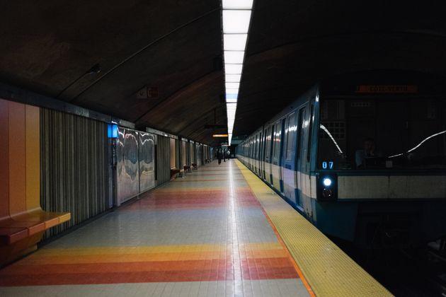 L'achalandage dans le réseau de la Société de transport de Montréal a chuté...