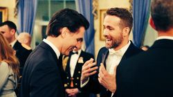 Ryan Reynolds Answers Justin Trudeau's Call To Spread COVID-19