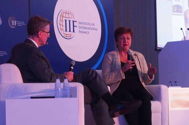 世界経済、新型コロナでリーマン以上の悪化か IMF見通し