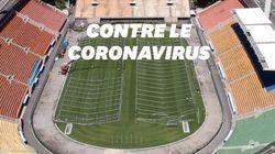 Ce stade brésilien de 45.000 places transformé en hôpital pour accueillir des malades du