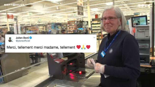 Dimanche 22, TF1 a diffusé l'émouvant témoignage d'une caissière de supermarché qui continue à travailler...
