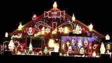 Weihnachten Lichter Sind Wieder Da: Die Menschen Versuchen Zu Erhellen Die Geister Inmitten Coronavirus Angst