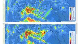 In Pianura Padana cala l'inquinamento: fino a -50% di biossido