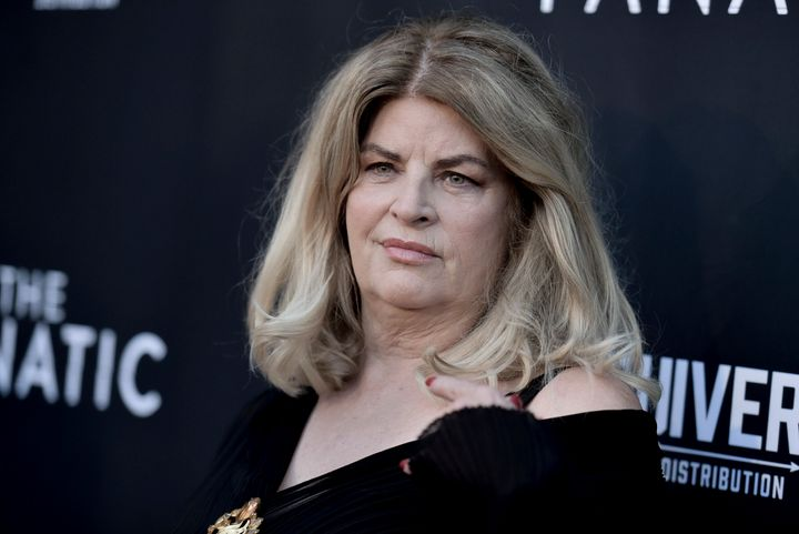 "Kirstie Alley commended the president for his ""willingness to solve problems."""