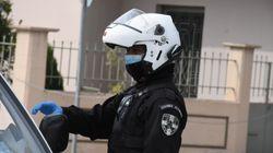 Αρνητικός στον κορονοϊό ο 26χρονος που έφτυσε αστυνομικούς στη