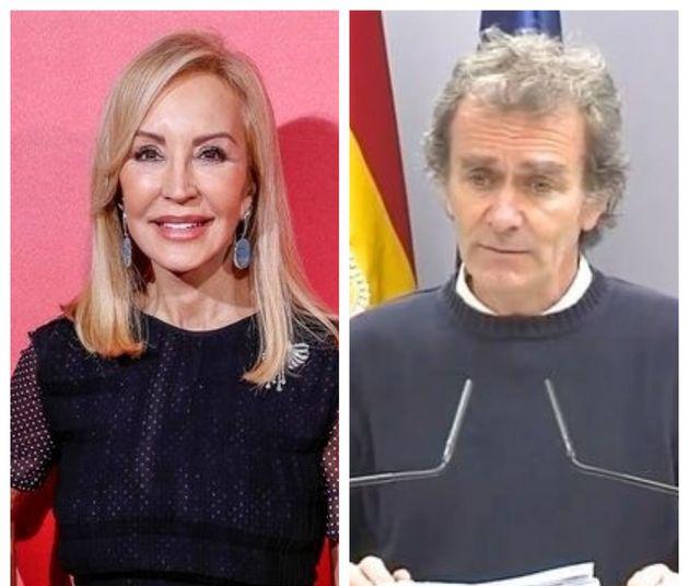 Carmen Lomana y Fernando