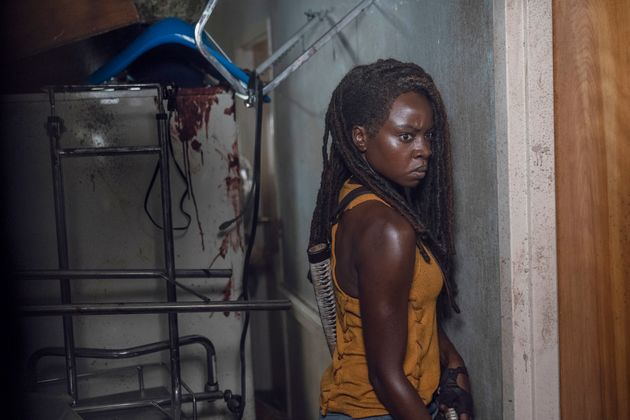 Michonne se prepara para ir a salvar a Rick
