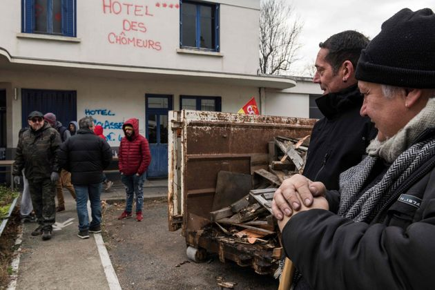 L'usine Luxfer deGerzat, dans le Puy-de-Dôme, a été fermée par son propriétaire...