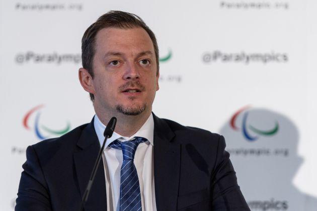 国際パラリンピック委員会のアンドリュー