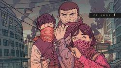 """BLOG - """"La Chute"""", la bande dessinée prophétique qui annonçait le"""