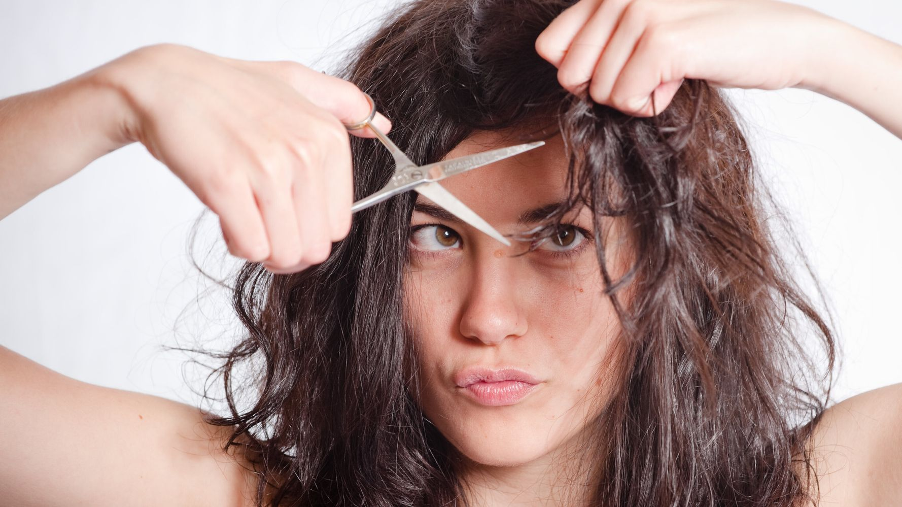 How To Cut Your Own Hair If You Absolutely Must Huffpost Life