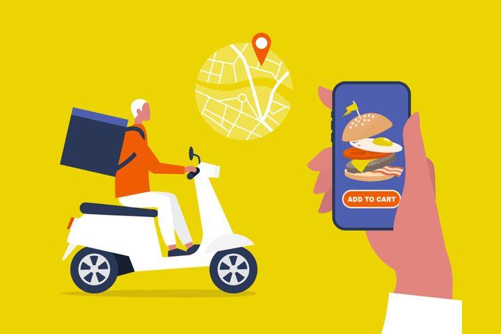 "Aplicativos de entrega de comida <a href=""https://techcrunch.com/2020/03/16/the-hidden-cost-of-food-delivery/)"" target=""_blank"" rel=""noopener noreferrer"">cobram taxas&nbsp;</a><a href=""https://techcrunch.com/2020/03/16/the-hidden-cost-of-food-delivery/)"" target=""_blank"" rel=""noopener noreferrer"">de at&eacute; 30%</a> dos&nbsp;restaurantes."