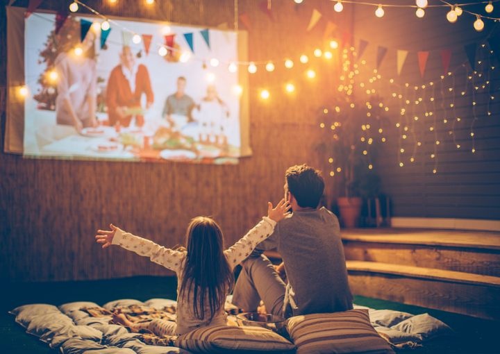 Let the birthday boy or girl pick out their favorite films for a family movie night.