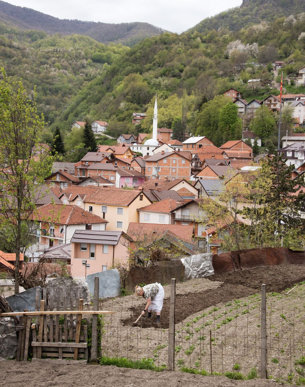 The town of Zirovnica in Mavrovo National Park.