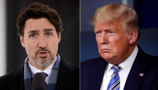 Trudeau, Trump In Sharp Contrast Amid Fight Against