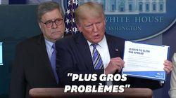 Contre le confinement, Trump a des arguments bien à