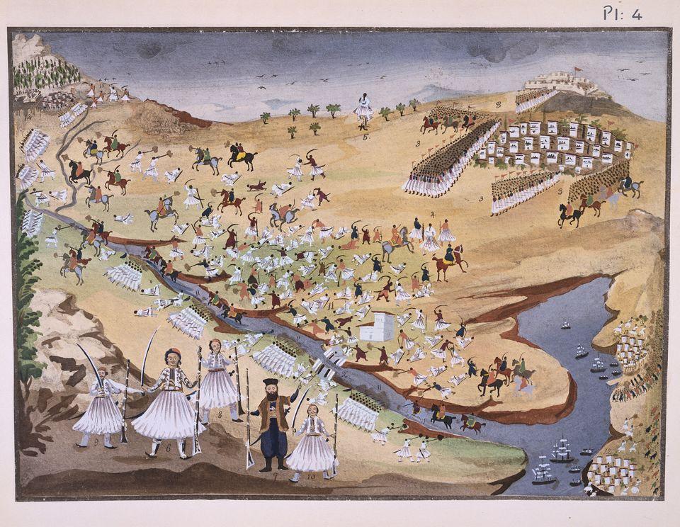 Η πρώτη μάχη μεταξύ Ελλήνων...