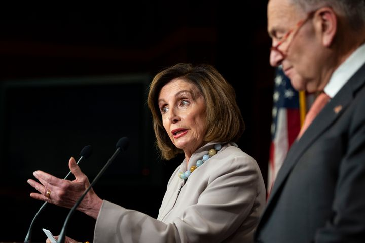 Progressives are unsure how to approach a bailout bill that House Speaker Nancy Pelosi (D-Calif.) and Senate Minority Leader