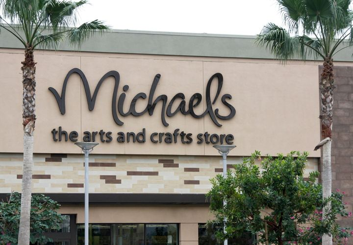 Michaels arts and craft stores have kept their doors open.
