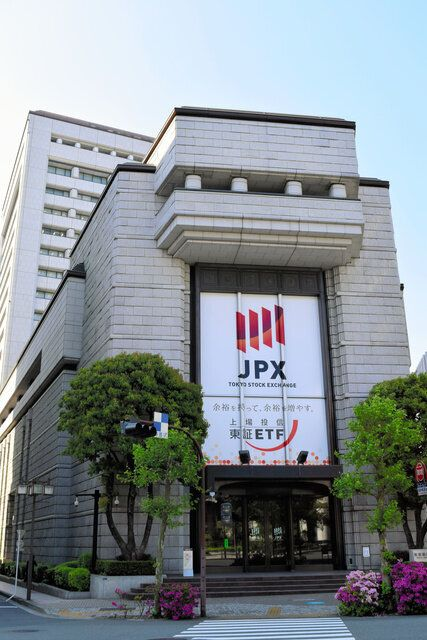 東京証券取引所=東京都中央区