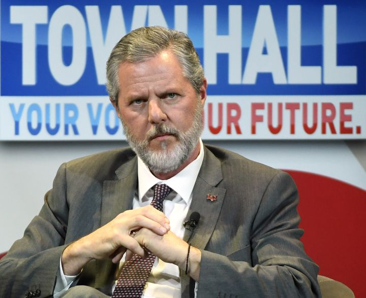Jerry Falwell Jr. is the president of Liberty University, an evangelical Christian university in Lynchburg, Virginia.