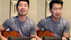 Shang Chi's Simu Liu Melts Hearts With Guitar As He Social Distances Amid Coronavirus
