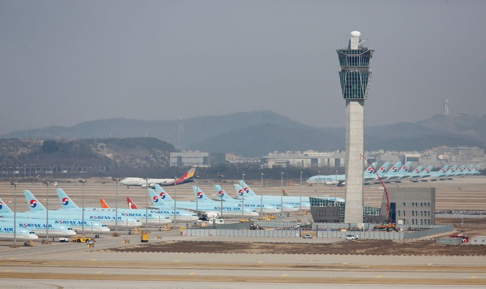 Incheon International Airport. March 24, 2020.