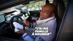 Malgré la pénurie de clients, ces chauffeurs de taxi bravent le