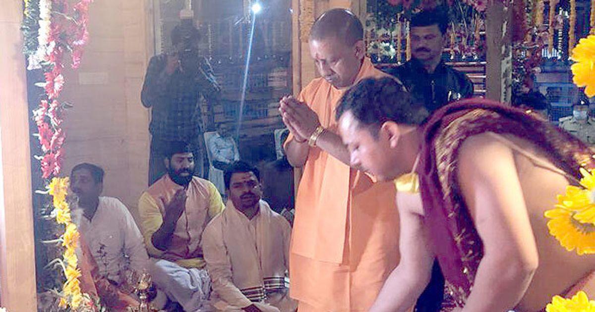 Yogi Adityanath Defies PM Modi's Lockdown, Shifts Ram Idol In Ayodhya
