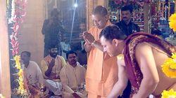 Yogi Adityanath Defies PM Modi's Lockdown, Shifts Ram Idol In