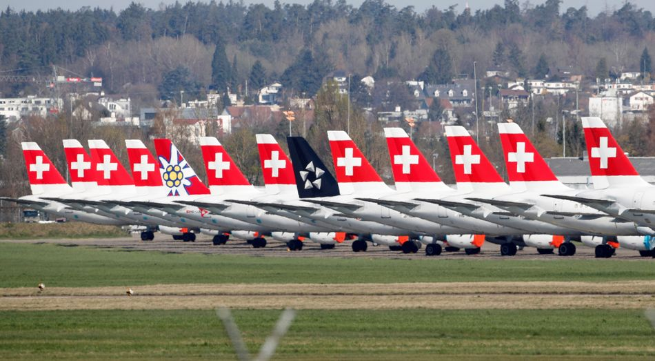 Dubendorf Air Force Base. Zurich, Switzerland. 23 March 2020.