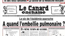 Le Canard Enchaîné en version réduite et disponible en PDF, une