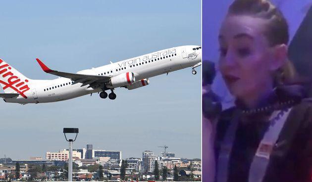 Cassie makes a landing announcement